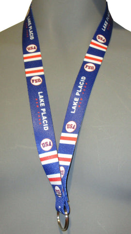 USA Hockey Miracle on Ice 1980 USA Hockey Team Lanyard