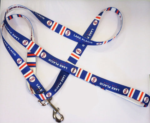 USA Hockey Miracle on Ice 1980 USA Hockey Team Pet Leash