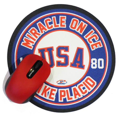 USA Hockey Miracle on Ice 1980 USA Hockey Team Mousepad