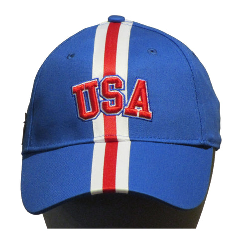 USA Hockey Miracle on Ice 1980 USA Hockey Team Hat Royal