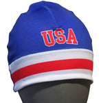 USA Hockey Miracle on Ice 1980 USA Hockey Team Performance Stretch Beanie Royal