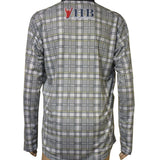 Herb Brooks Foundation Official USA Miracle 1980 Gold Medal Plaid 1/4 Zip Performance Pullover