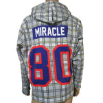Herb Brooks Foundation Official USA Miracle 1980 Gold Medal Plaid Hoody