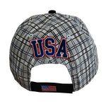 Herb Brooks Foundation USA Miracle 1980 Gold Medal Plaid Cap