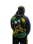 Jamaica Bobsled Official Licensed 1988 Authentic Performance Hoody Cool Runnings
