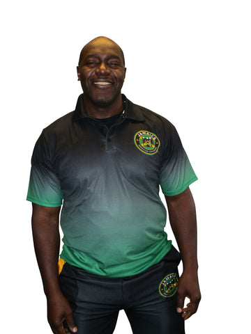 Jamaican Bobsled Team Authentic Performance Polo Cool Runnings