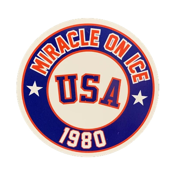 "Miracle on ice 1980 Magnet 3"" Round"