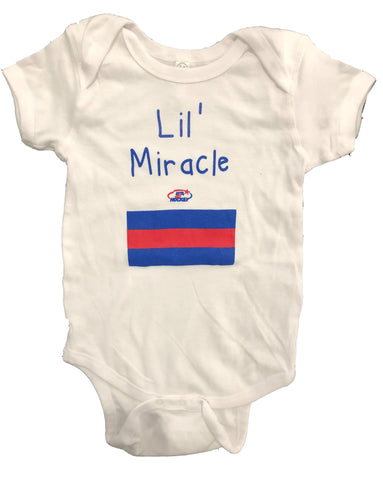 USA Hockey Miracle on Ice 1980 USA Hockey Team Authentic Lil' Miracle Onesie White
