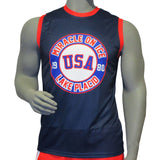 USA Hockey Miracle on Ice 1980 Team Authentic Jersey Singlet