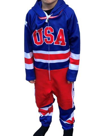 USA Hockey  Miracle on Ice 1980 USA Hockey Team Jersey Youth Sublimated