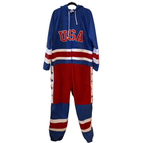 USA Hockey  Miracle on Ice 1980 USA Hockey Team Jersey Polar Fleece Onesie