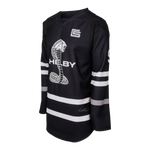 Two Stripe Shelby Racing Hockey Jersey - Black