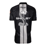 Two Stripe Shelby Racing Performance Polo - Black