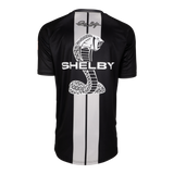 Two Stripe Shelby Racing Performance Tee - Black