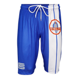 Two Stripe Shelby Racing Performance Short - Royal