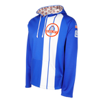 Two Stripe Shelby Racing Performance Hoody - Royal