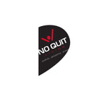No Quit Living Drifit Type Fleece Line Hoodie