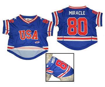 USA Hockey Miracle on Ice 1980 - Authentic Pet Jersey