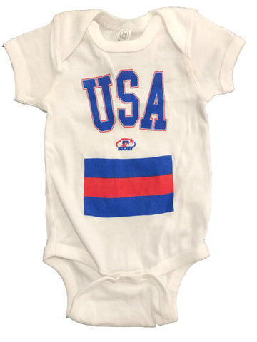 USA Hockey Miracle on Ice 1980 USA Hockey Team Authentic Onesie