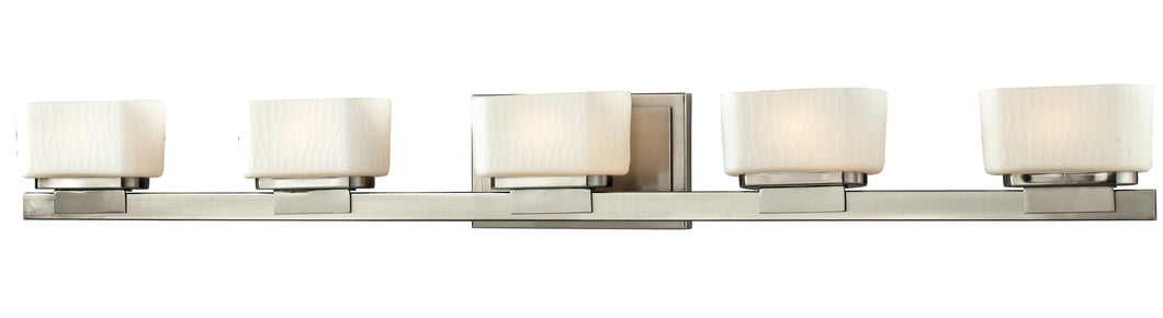 Z-lite Gaia Vanity Brushed Nickel-Chrome-Bronze Bathroom Vanity - ChandeLighting