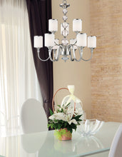 Load image into Gallery viewer, Z-Lite Cosmopolitan Cosmos Chandelier Chrome dining hall - ChandeLighting