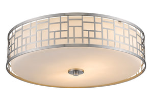 Z-Lite Elea Flush Mount Bronze Kitchen Flush Mount - ChandeLighting