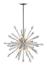 Load image into Gallery viewer, Z-lite Sole Chandelier 10-lights Chrome Grand Foyer Chandelier - ChandeLighting
