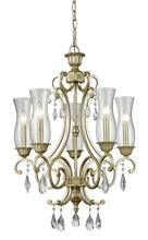 Load image into Gallery viewer, Z-Lite Melin Chandelier Antique Silver Grand Foyer - ChandeLighting