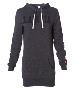 LA MIJA Hoodie Dress - Charcoal