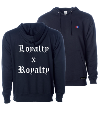 Loyalty X Royalty Pullover - Navy
