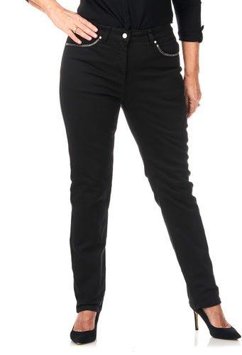 Pinns Jeans - Slim Leg with Sparkle Pocket Detail