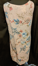 Load image into Gallery viewer, Relaxed fit Italian linen floral dress