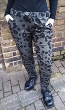 Load image into Gallery viewer, Super Stretch 'Magic' Trousers with Jaguar Print