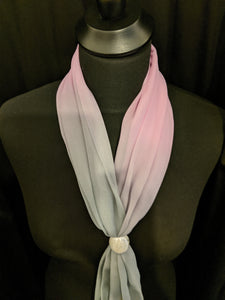 Ombre Scarf with Ring