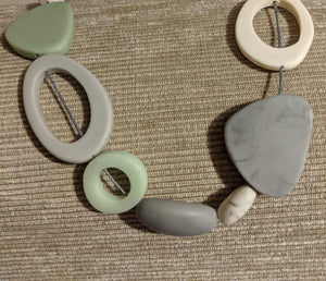 Short  Necklace - Mixed shapes