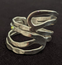 Load image into Gallery viewer, Adjustable Metal Abstract  Ring