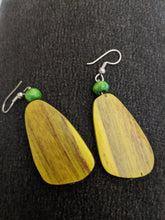 Load image into Gallery viewer, Wooden Drop Earrings