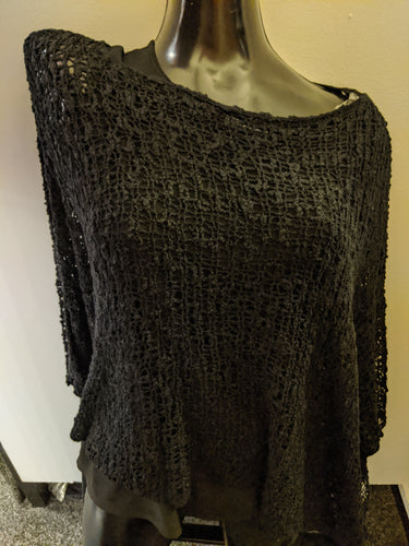 Popcorn Knit Layer Top