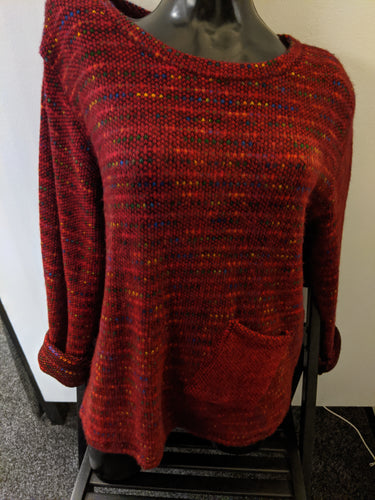 Made In Italy Rainbow Dots Top/Jumper