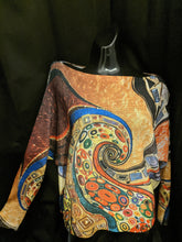 Load image into Gallery viewer, Jumper - Lightweight Fun Mixed Pattern Batwing