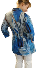 Load image into Gallery viewer, Orientique Morocco Print Crinkle Tunic/Shirt