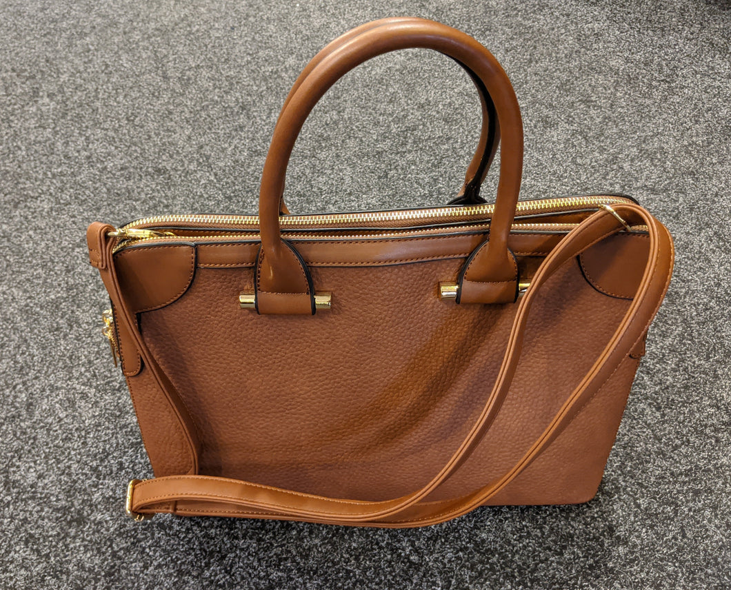 Handbag - Doctor Style Shape (with 2 zip fasten)