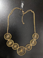 Load image into Gallery viewer, Necklace with Wire Work Wheel Design