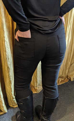 Super Stretch 'Magic' Trousers with Back Pockets