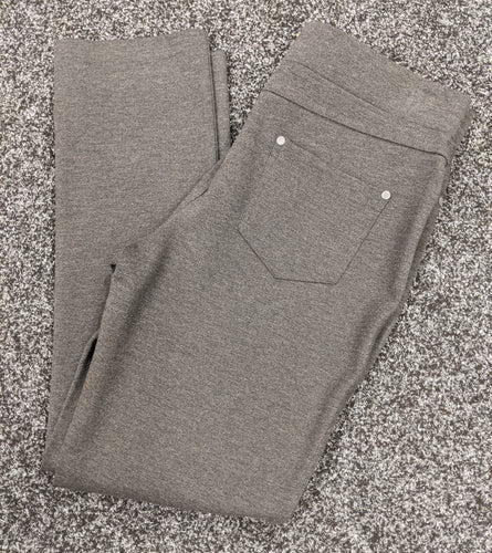 Pinns Skinny Jersey Knit Trousers with Jeans Style Back Pockets