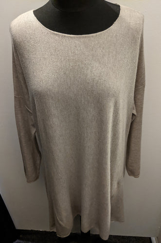 Made In Italy Soft Brushed Tunic