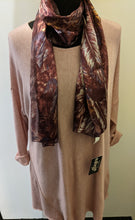 Load image into Gallery viewer, Chiffon Scarf with Geometric Pattern