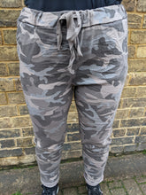 Load image into Gallery viewer, Super Stretch 'Magic' Trousers in  Camo Print