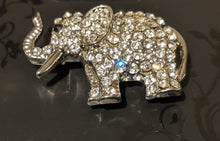 Load image into Gallery viewer, Sparkly Elephant Brooch