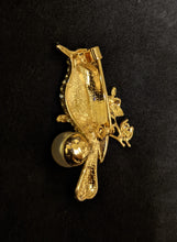 Load image into Gallery viewer, Diamante Kingfisher Brooch